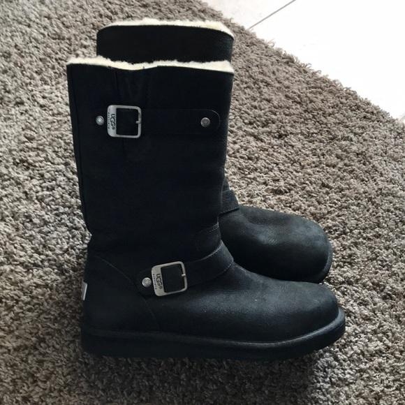 158ac3734b3 UGG Australia women's black Sutter boot Size 8